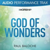 God Of Wonders (Original Key without Background Vocals) [Music Download]