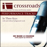 He Made A Change (Performance Track Low without Background Vocals in F) [Music Download]