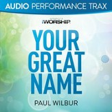 Your Great Name (Original Key without Background Vocals) [Music Download]