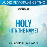 Holy (It's the Name) (Original Key Trax with Background Vocal) [Music Download]