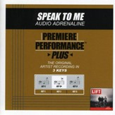 Speak To Me (Key-E-Premiere Performance Plus w/ Background Vocals) [Music Download]