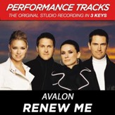 Renew Me (Key-D-F-Premiere Performance Plus w/Background Vocals) [Music Download]