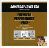 Somebody Loves You (Key-D-A-Premiere Performance Plus w/ Background Vocals) [Music Download]