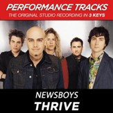 Thrive (Key-A/E-Premiere Performance Plus w/Background Vocals) [Music Download]