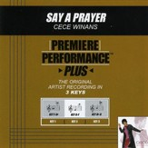 Say A Prayer (Key-F-Ab Premiere Performance Plus w/ Background Vocals) [Music Download]