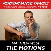 The Motions (Medium Key-Premiere Performance Plus w/o Background Vocals) [Music Download]