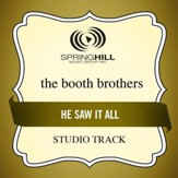 He Saw It All (High Key-Studio Track w/o Background Vocals) [Music Download]