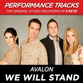 We Will Stand (Key-C-Premiere Performance Plus w/ Background Vocals) [Music Download]