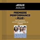 Jesus (Key-A-Premiere Performance Plus w/ Background Vocals) [Music Download]