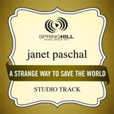 A Strange Way To Save The World (Studio Track) [Music Download]