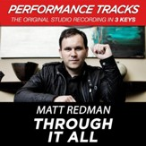 Through It All (Medium Key Performance Track Without Background Vocals) [Music Download]