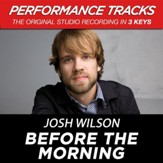 Before The Morning (Medium Key Performance Track With Background Vocals) [Music Download]