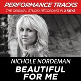 Beautiful For Me (Medium Key Performance Track Without Background Vocals) [Music Download]