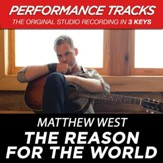 The Reason For The World (Medium Key Performance Track Without Background Vocals) [Music Download]