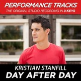 Day After Day (Medium Key Performance Track With Background Vocals) [Music Download]