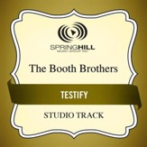 Testify (Medium Key Performance Track With Background Vocals) [Music Download]