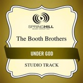 Under God (Medium Key Performance Track With Background Vocals) [Music Download]