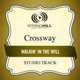 Walkin' in the Will (Medium Key Performance Track Without Background Vocals) [Music Download]
