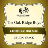 A Christmas Love Song (Medium Key Peformance Track With Background Vocals) [Music Download]