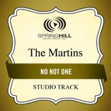 No Not One (Medium Key Performance Track With Background Vocals) [Music Download]