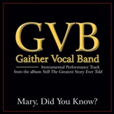 Mary, Did You Know? (Original Key Performance Track Without Background Vocals) [Music Download]