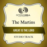 Great Is the Lord (Medium Key Performance Track With Background Vocals) [Music Download]