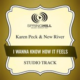 I Wanna Know How It Feels (Medium Key Performance Track With Background Vocals) [Music Download]
