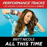 All This Time (Low Key Performance Track Without Background Vocals) [Music Download]