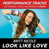 Look Like Love (Medium Key Performance Track With Background Vocals) [Music Download]