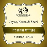 It's in the Attitude (Medium Key Performance Track With Background Vocals) [Music Download]