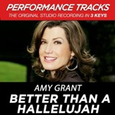 Better Than A Hallelujah (Low Key Performance Track Without Background Vocals) [Music Download]