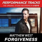 Forgiveness (Medium Key Performance Track Without Background Vocals) [Music Download]