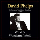What a Wonderful World (High Key Performance Track Without Background Vocals) [Music Download]