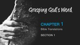 Bible Translations [Video Download]