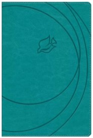 NKJV New Spirit Filled Life Bible, Imitation Leather, Revised, Turquoise