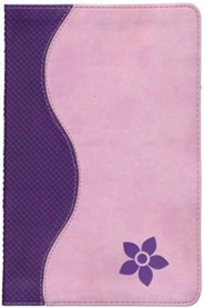 KJV Study Bible for Girls, Purple/Pink Duravella