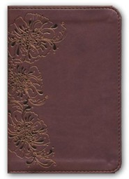 NKJV Compact Large Print Reference Bible, Imitation Leather, Copper Shimmer