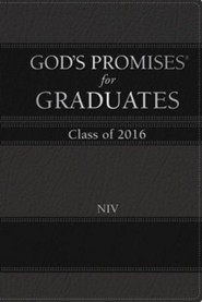 NIV God's Promises for Graduates: Class of 2016, Black