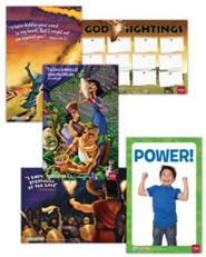Hands-On Worship Poster Pack, Summer, Set of 5