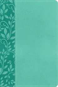 NKJV Gift Bible, Imitation Leather Turquoise