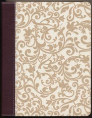 KJV Holy Bible, Journal Edition, Bonded Leather, Brown