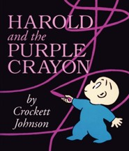 Harold and the Purple Crayon--Boardbook