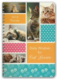 2016 Engagement Planner - Daily Wisdom for Cat Lovers