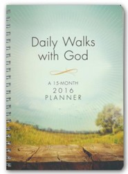 2016 Daily Walks with God Engagement Planner
