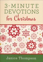 3-Minute Devotions for Christmas