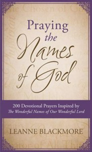 Praying the Names of God: 200 Devotional Prayers Inspired by The Wonderful Names of Our Wonderful Lord