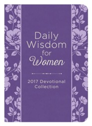 Daily Wisdom for Women 2017 Devotional Collection , Imitaiton Leather purple