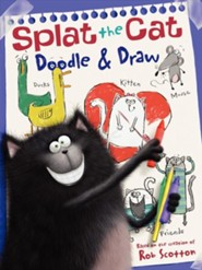 Splat the Cat: Doodle & Draw  -     By: Rob Scotton     Illustrated By: Rob Scotton