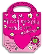 Mi Linda Bolsa Rosada Para Colorear (My Pretty Pink Purse for Coloring)