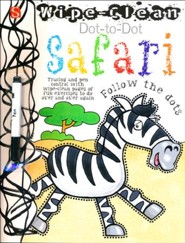Wipe Clean Dot-to-Dot: Safari